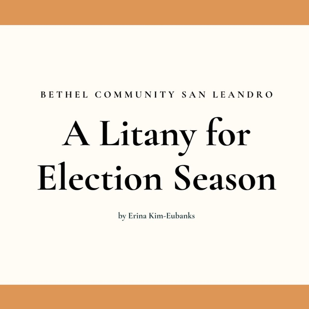 A Litany for Election Season Square Image
