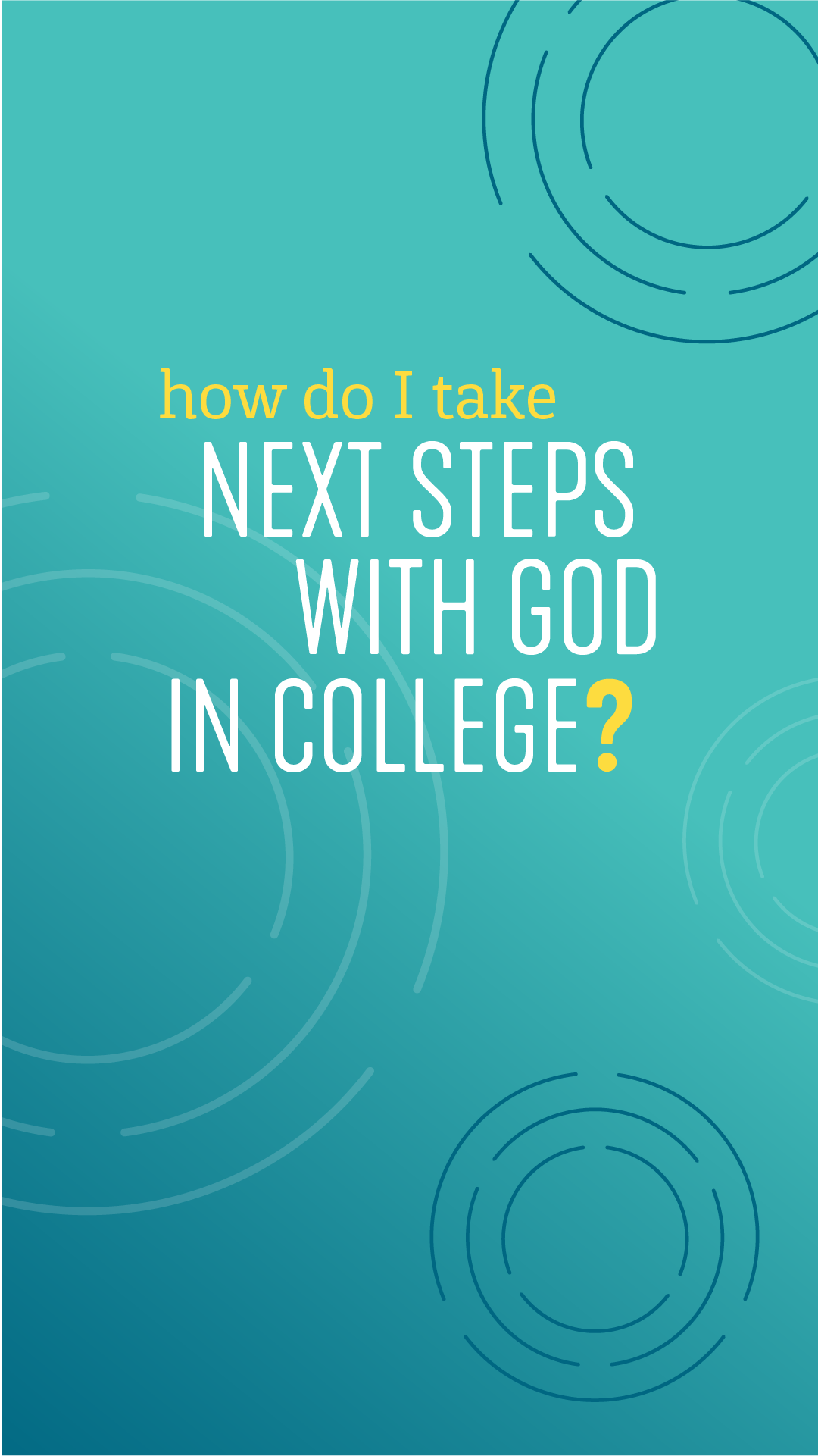 Next Steps with God