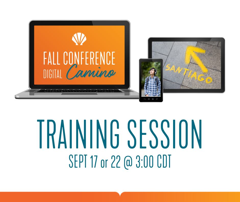 Fall Conference Training Session Graphic