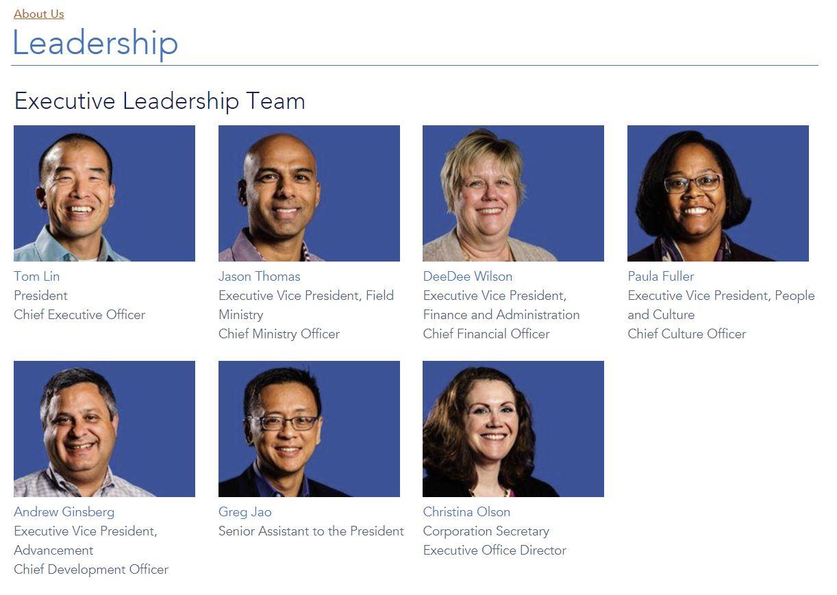 Leadership | InterVarsity