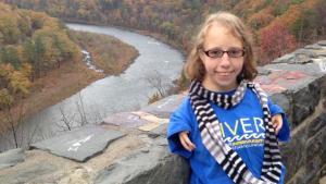 Kat Roffina portrait overlooking river scene
